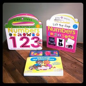Toddler ABC 123 Book Bundle